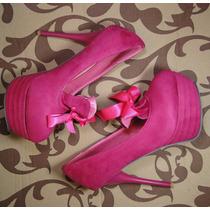 Sapato Bordello Boneca Pink Importado Pronta Entrega