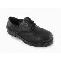 Sapato Cadarço Vj Calçados Com Bico De Aço 055sa
