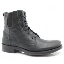 Bota Masculina Coturno Zariff Shoes Couro Bm-86 | Zariff