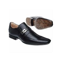Sapato Masculino Social 100% Couro Stilo Samello Democrata