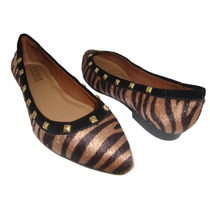 Sapatilha Feminina Zebra-bico Fino Vivaice Fashion