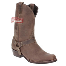 Bota Texana Masculina Bico Quadrado - West Country