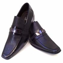 Sapato Social Masculino Em Couro Formatura Casamento