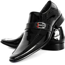 Sapato Social Verniz Alcalay Lançamento Franca Dhl Calçados