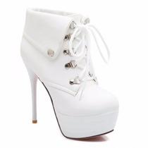 Sapatos Importados Femininos - Botas Com Design Moderna!