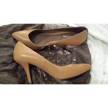 Scarpin Sapato Zara Tamanho 34 Couro
