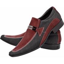 Sapato Masculino Estilo Social Casual Festa Fim De Ano
