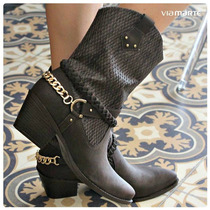 Bota Feminina Country Via Marte