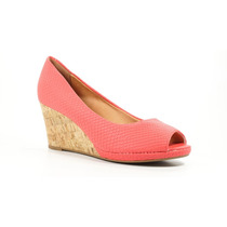 Sapato Feminino Vizzano 1826.100 Salto Anabela Original+n.f