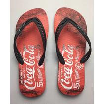 Sandalia Coca Cola ® Original Cc2099 Novo