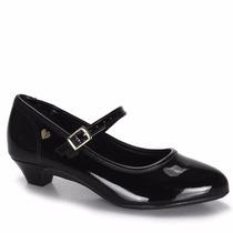 Sapato Molekinha Com Salto 2166.101 - Maico Shoes