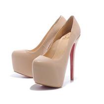 Sapato Louboutin 16cm Preto Ou Nude Pronta Entrega