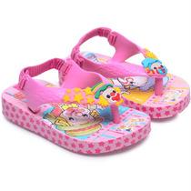Chinelo Grendene Patati Patatá Baby-rosa-lilás