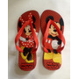 Chinelo Havaianas Personalizada Mickey Minnie - Personagens