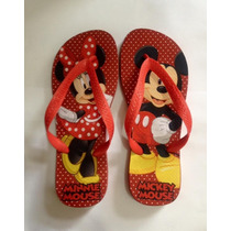 Chinelo Havaianas Personalizada Mickey Minnie - Personagens