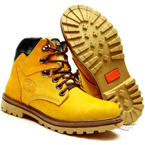 Bota Tenis Adventure Amarela Casual Off Road Hip Hop U.s.a.