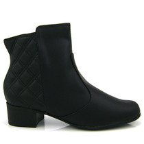 Bota Ankle Boot Vizzano 3045100 - Preta