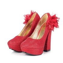 Scarpin Vermelho Importado N36 Promoção 150,00