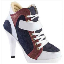 Sneaker Com Salto - Pronta Entrega