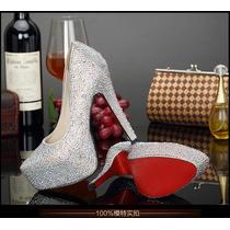 Sapato Feminino Salto Alto Importado Varias Cores