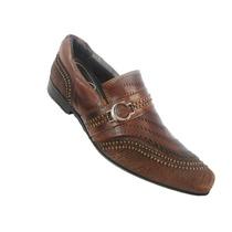 Sapato Casual Masculino Calvest Café - 875 Dicastros