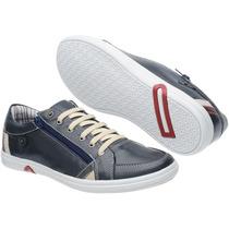 Sapatênis Tênis Sapato Masculino Couro Legítimo Franca