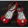 Sapato Sapatilha Sandália Princesa Minnie Branca De Neve