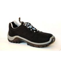 Botina Calçado Sapato De Segurança Estival Sem Bico De Aço