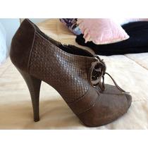 Sapato Fechado Marrom