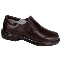 Sapato Social Linha Flexible Pés Confortáveis Franca Couro