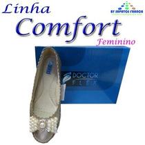 Sapatilha Feminina Sapatos Com Laço Em Pérola