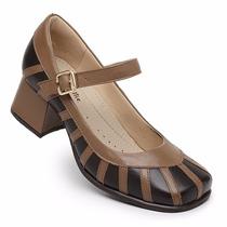 Sapato Boneca Estilo Retro Nr.35 (palmilha Sistema Comfort)