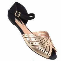 Sandália Rasteira Com Tiras Beira Rio 8226.438 - Maico Shoes
