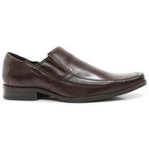 Sapato Masculino Social Ferracini Couro Marrom | Zariff