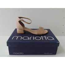 Sandalia Mariotta Salto Bx Grosso Ref 8082-56