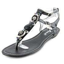 Annie Shoes Mara Mulheres W Sapato Aberto À Frente Syntheti