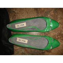 Sapato Tommy Hilfiger Tamanho 37 Cor Verde