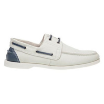 Sapato Dockside Super Luxo Solado Costurado Palmilha Confort