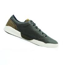 Sapatênis Masculino Couro Fork Footwear Kiss Grafite - 21304
