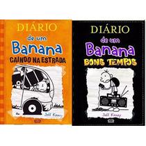 Livros Diário De Um Banana: Vol 9 E Vol 10 - Frete Grátis