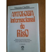 Livro Antologia Internacional Do Riso - Mansour Challita