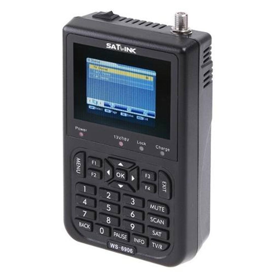 satlink ws 6906 finder, localizador de satélites