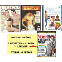 Revistas/livro - Perder A Barriga - Emagrecimento - Dieta