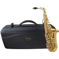 Saxofone Alto Mib Laqueado Michael Com Case