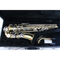 Saxofone Alto E. M. Winston Boston, Made Em Usa, Troco