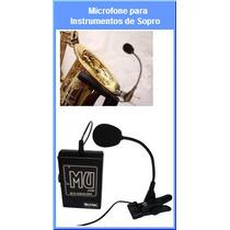 Microfone P/ Instrumento De Sopro Mu 500