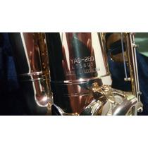Sax Alto Yamaha Banho De Ouro!