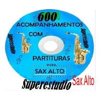 Playbacks E Partituras Para Sax Alto