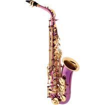 Eagle Sa500tp Saxofone Alto Mib Cor: Violeta - Frete Grátis