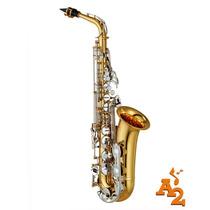 Saxofone Alto Yamaha Yas 26 Id Mi Bemol Laqueado - Loja
